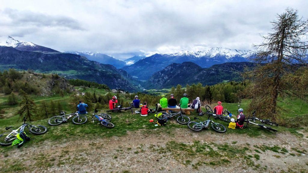 Montagnes Valdôtaines - Patrik Gerbaz MTB Guide