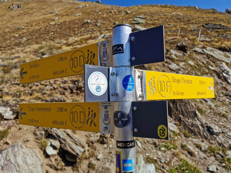 Tour del Gran Paradiso - Patrik Gerbaz MTB Guide - Valle d'Aosta